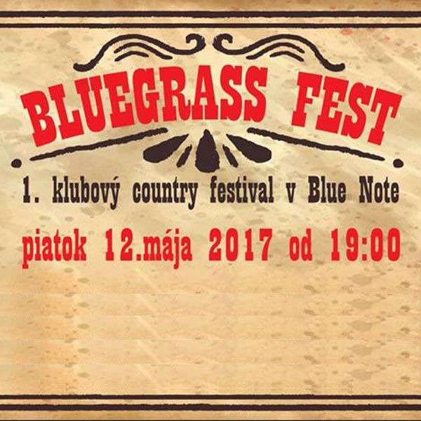 Bluegrass – 1.klubový country fest
