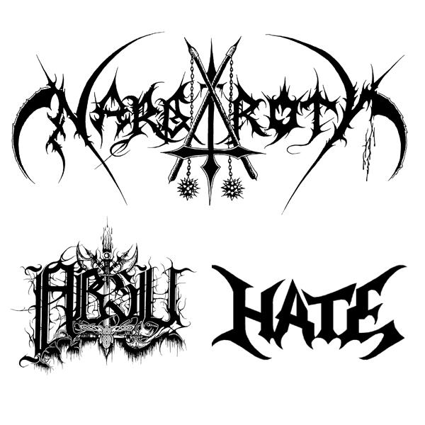 NARGAROTH /DE/, ABSU /USA/, HATE /PL/