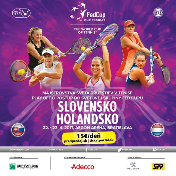 Fed Cup Slovensko - Holandsko