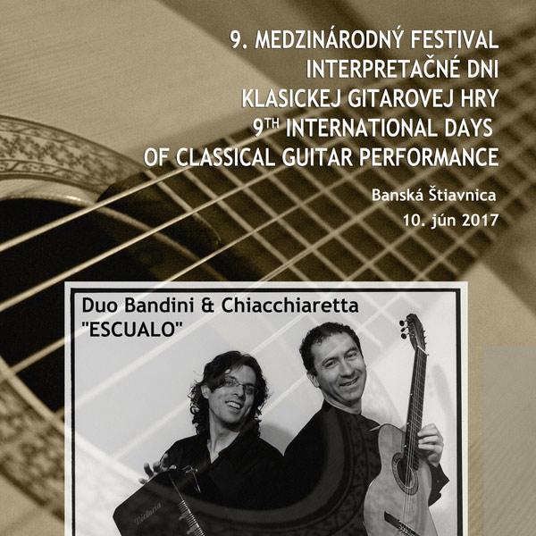 9. Medzinárodný festival - klasickej gitarovej hry