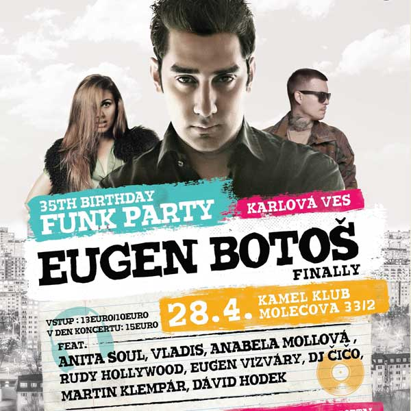 Eugen Botoš Funk Projekt & Birthday Party