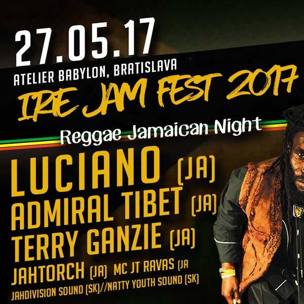 Irie Jam Reggae Fest 2017