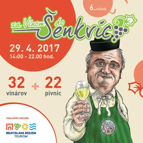 ZA VÍNOM DO ŠENKVÍC 2017 - 6. ročník