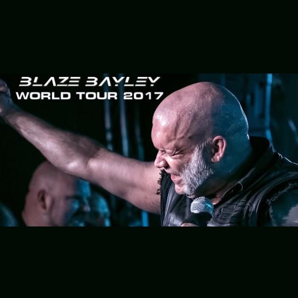 BLAZE BAYLEY WORLD TOUR
