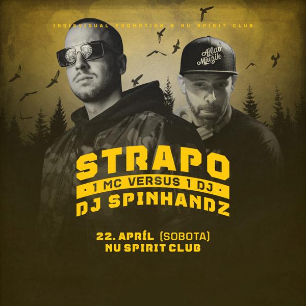 Strapo & DJ Spinhandz live