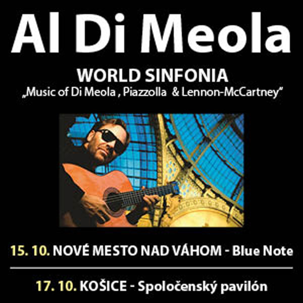 AL DI MEOLA - World Sinfonia Tour