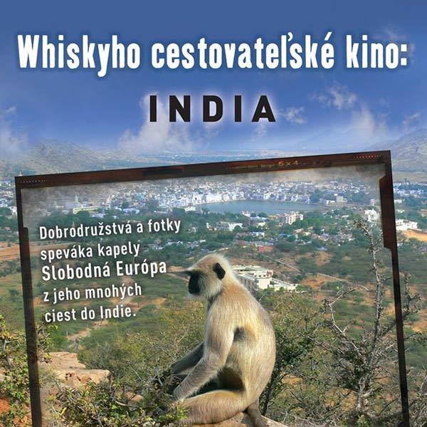 Whiskyho cestovateľské kino – INDIA