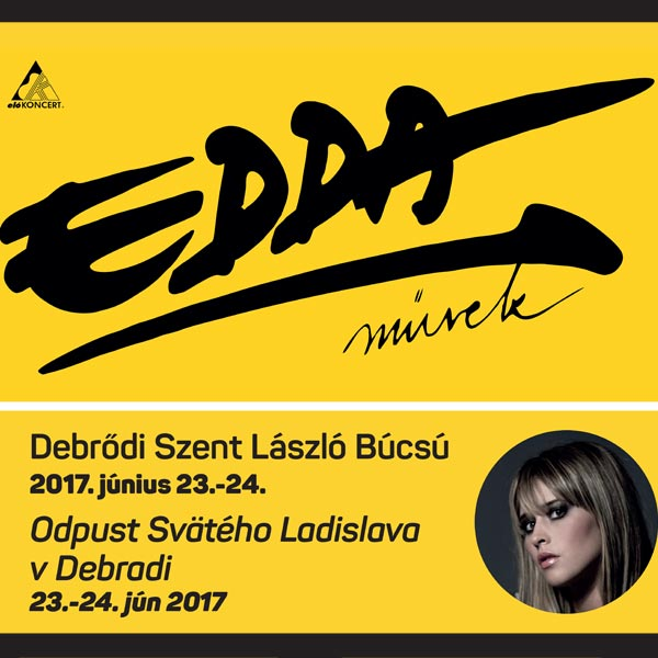Koncert EDDA művek a speváčky Linda Király