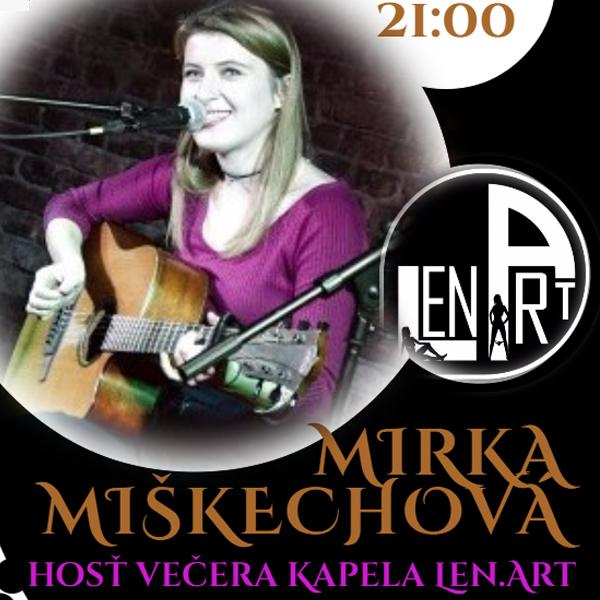 Mirka Miškechová + kapela Len.Art