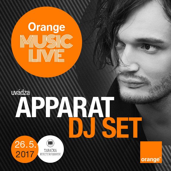 Orange Music Live: Apparat Dj set