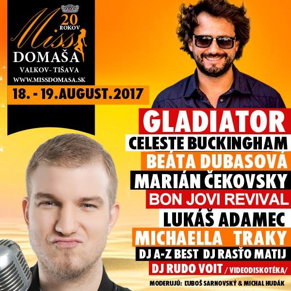 Miss Domaša 2017