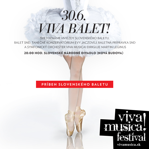 VIVA BALET! Príbeh slovenského baletu