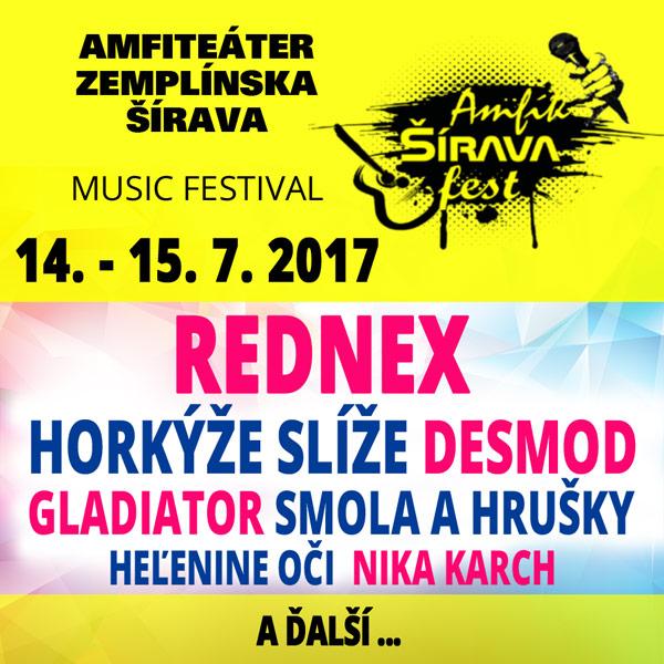 AMFIK Šírava fest 2017 – music festival