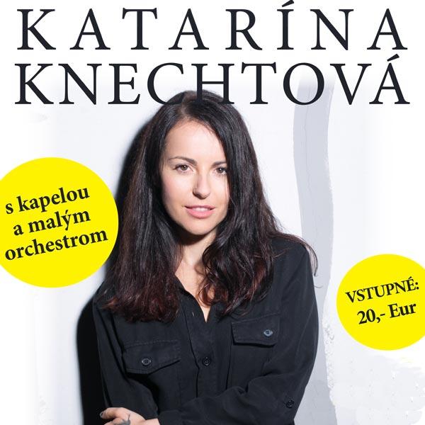 Katarína Knechtová s kapelou a malým orchestrom