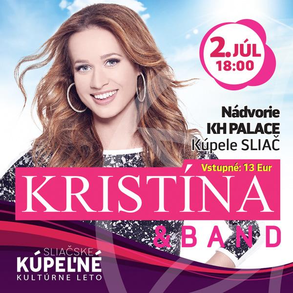 Koncert Kristína & band