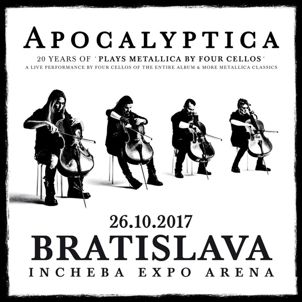 Apocalyptica - 20 years of plays Metallica ...