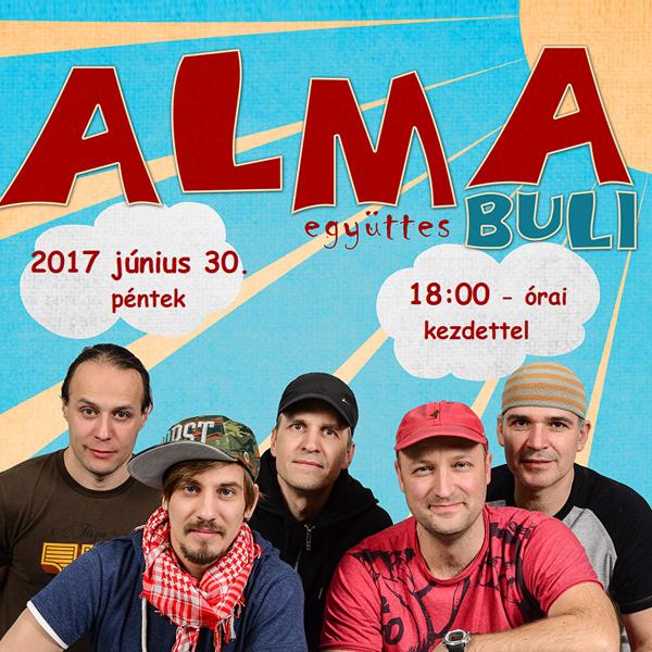 ALMA együttes BULI Komárno