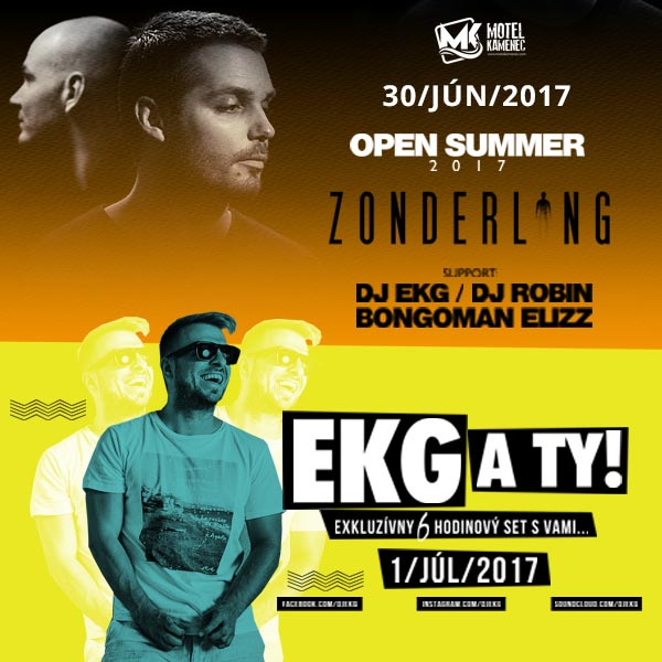 Open Summer 2017 / Zonderling, EKG