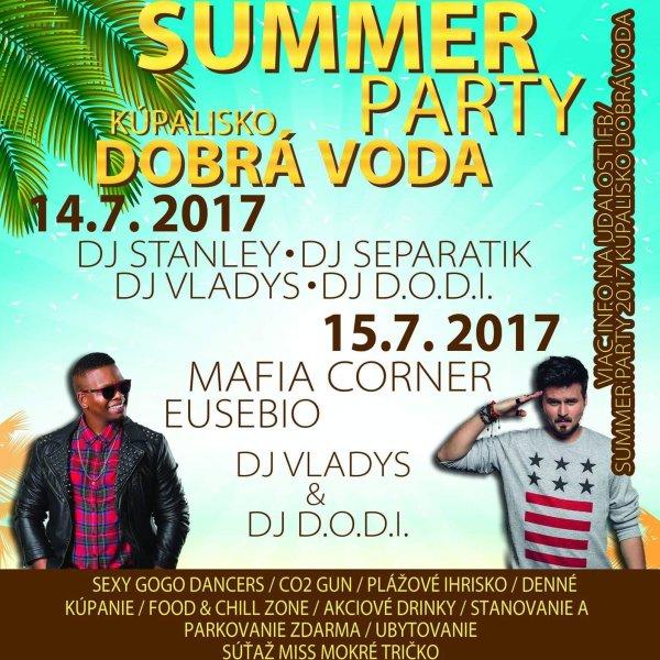 SUMMER PARTY - DOBRÁ VODA
