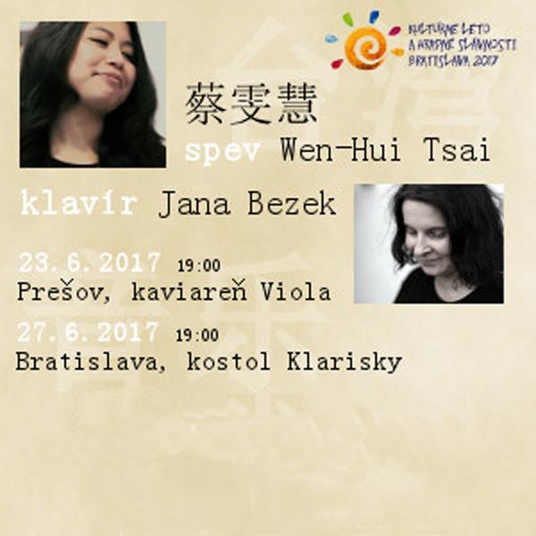 Duo Wen-Hui Tsai (Taiwan) a Jana Bezek (Slovensko)