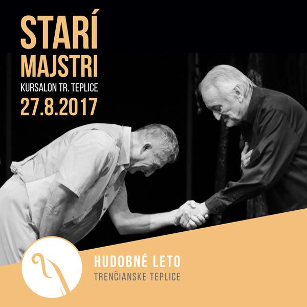 Divadelné predstavenie Starí majstri v Kursalone