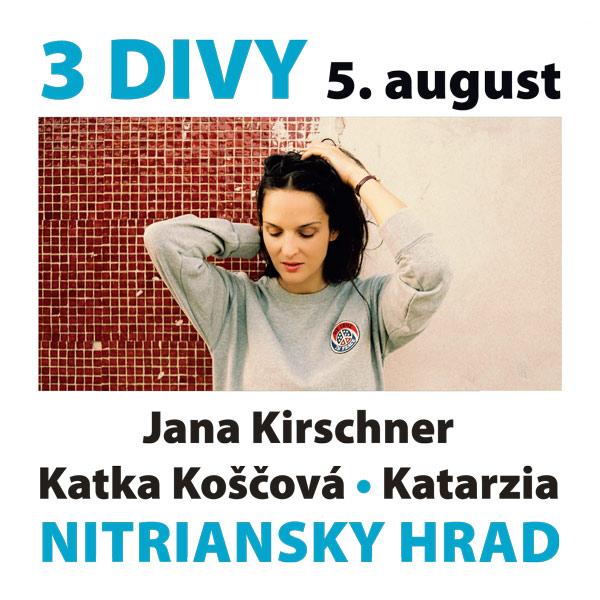 FESTIVAL NITRIANSKY HRAD - 3 DIVY