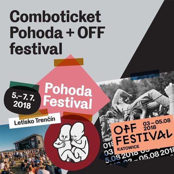 COMBOTICKET POHODA + OFF FESTIVAL