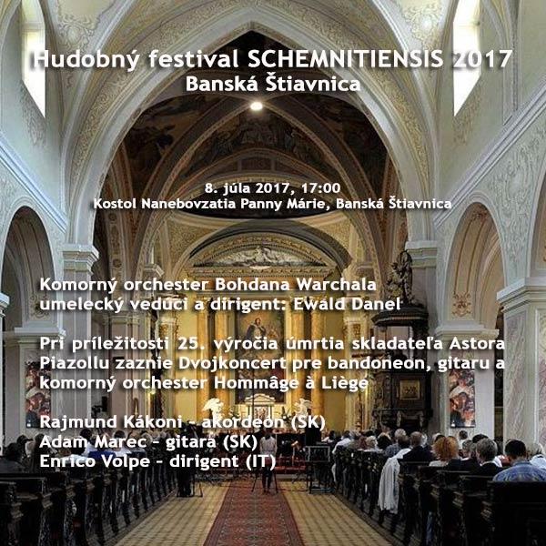 Koncert komorného orchestra Bohdana Warchala
