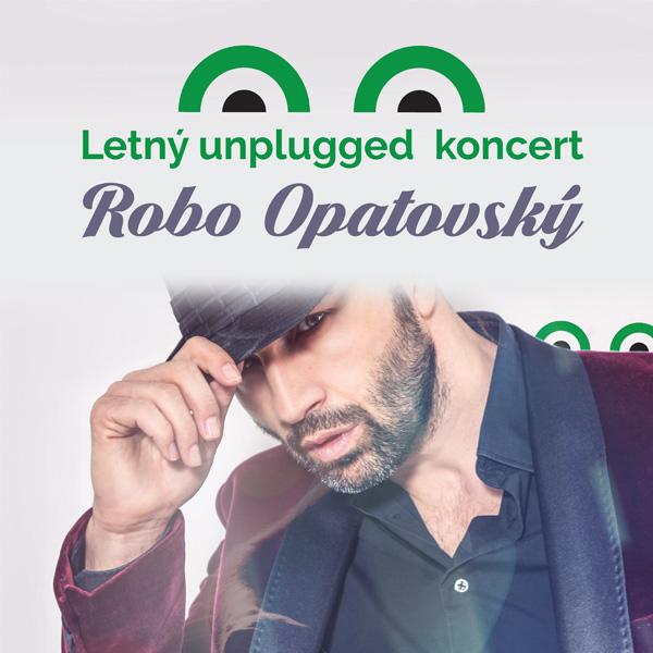 Unplugged koncert Roba Opatovského