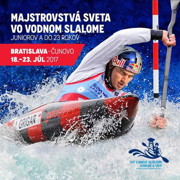 MS Juniorov a do 23 rokov vo vodnom slalome 2017