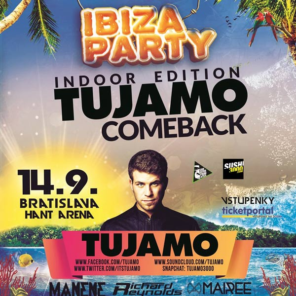 IBIZA PARTY - TUJAMO comeback