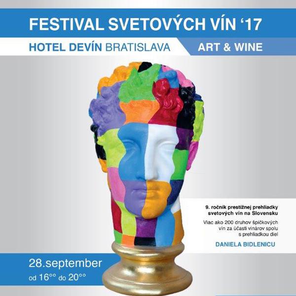 ART and WINE Festival svetových vín