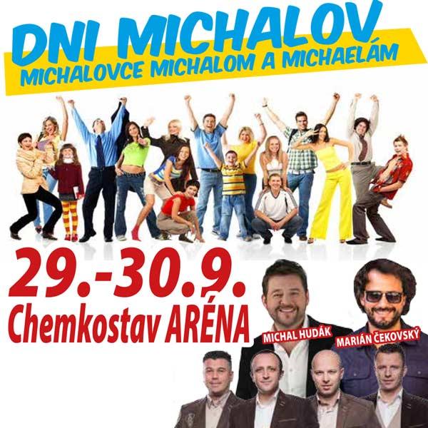 Dni Michalov s Kandráčovcami v Michalovciach