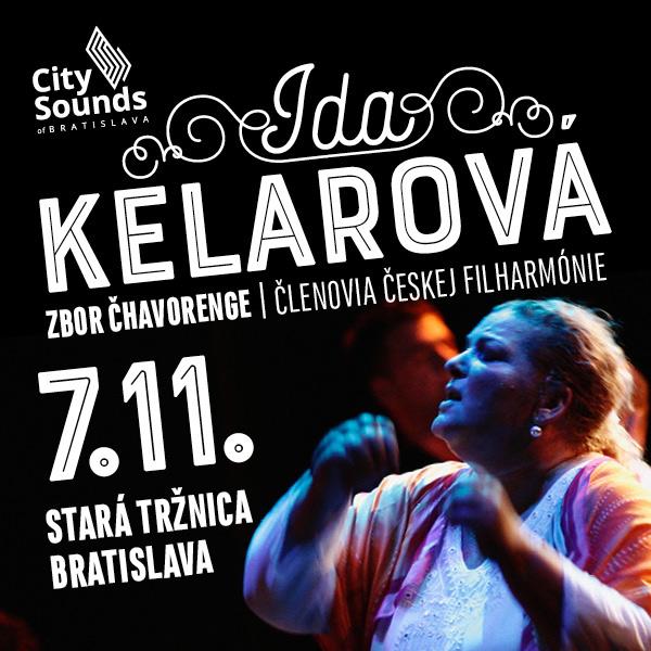 IDA KELAROVÁ / ČHAVORENGE / ČESKÁ FILHARMÓNIA