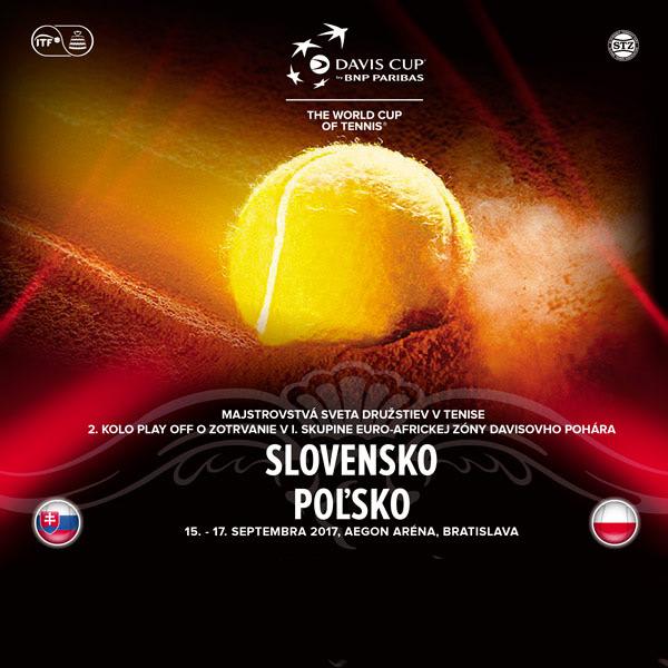 DAVIS CUP: Slovensko - Poľsko