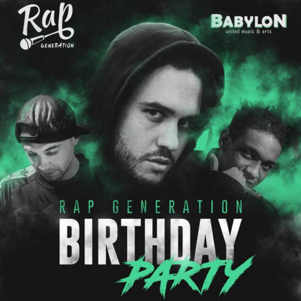 Rap Generation Birthday party