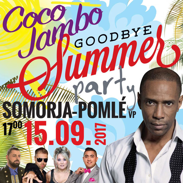 COCO JAMBO - Goodbye Summer párty!