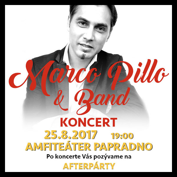 Marco Pillo & Band - koncert