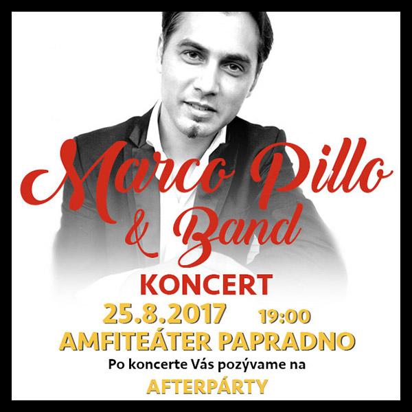 Marco Pillo & Band - koncert