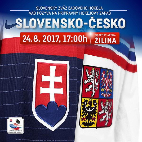 Prípravný zápas Slovensko - Česko