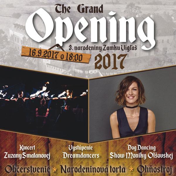 The Grand Opening - Koncert Zuzany Smatanovej