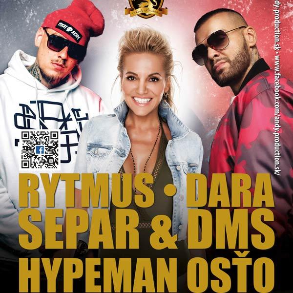 Dara, Rytmus, Separ & DMS