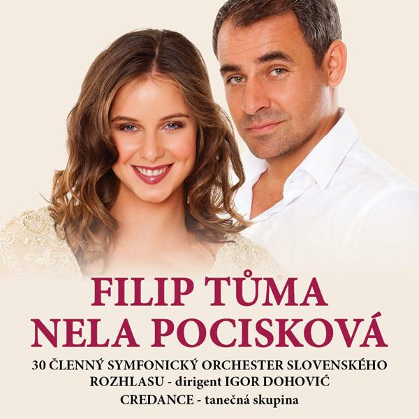 Filip Tůma a Nela Pocisková & Symf. orch. SRo