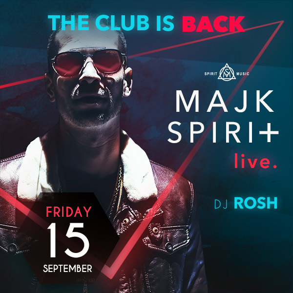 The Club is back & Majk Spirit live