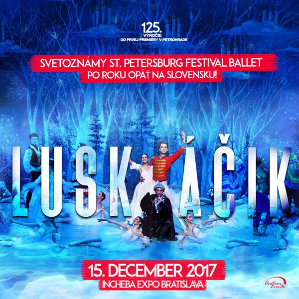 LUSKÁČIK - ST. PETERSBURG FESTIVAL BALLET