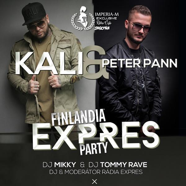 KALI a PETER PANN Finlandia Expres párty
