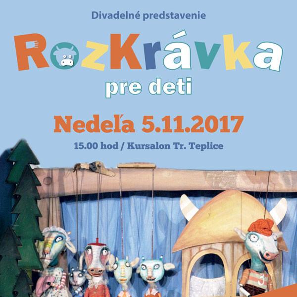 RozKrávka - divadlo pre deti