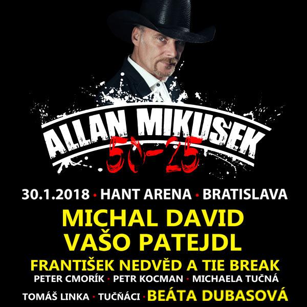 Galakoncert Allan Mikušek 50-25 + hostia