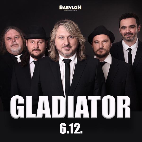 GLADIATOR - Akustické turné 2017