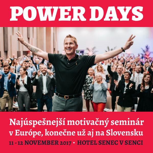 POWER DAYS